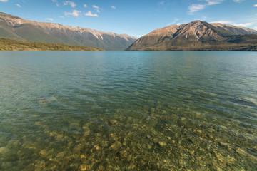 Lake Rotoiti in Nelson Lakes, New Zealand