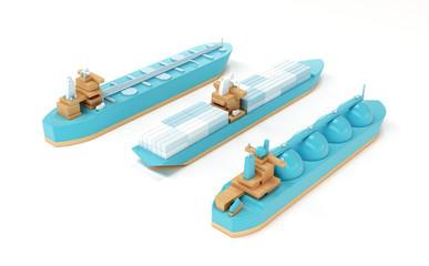 Tanker boat