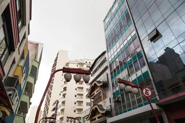 Japanese neighborhood in Brazil