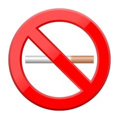 No Smoking Symbol - Illustration