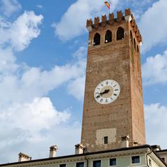 Il campanile di Bassano del grappa