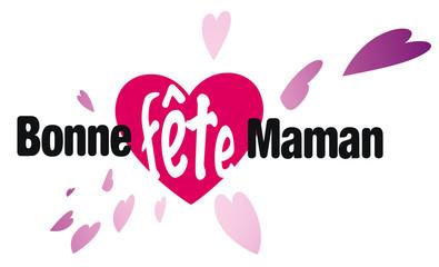 bonne fête maman, coeur