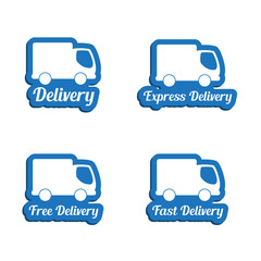 Delivery symbols set