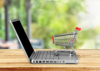 E-commerce. E-commerce concept
