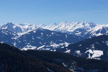Berchtesgadener Alpen im Winter
