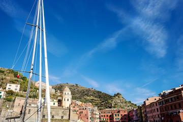 Vernazza glimpse in a sunny day