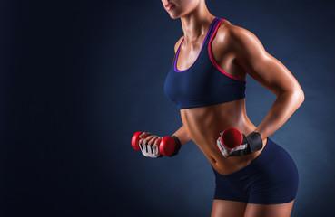 Athletic girl