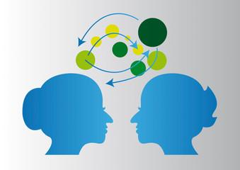 network social digital media vector illustration