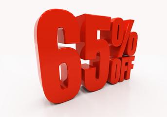 3D 65 percent