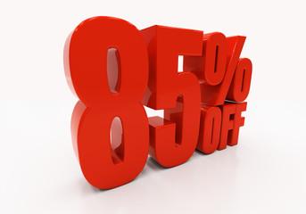 3D 85 percent