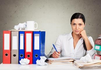 Emotional Stress. Frustration in work