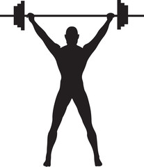 Weightlifter Silhouette