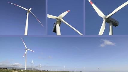 Wind turbines multiscreen