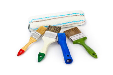 Group of paint brushes