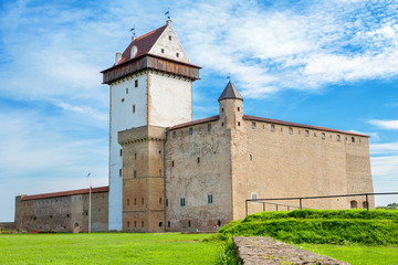 Old fortress. Narva, Estonia, EU