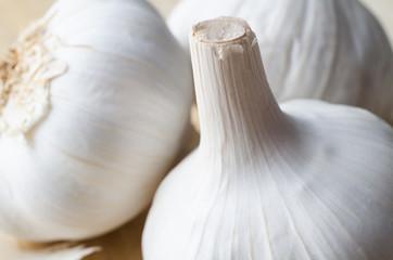 Trio of Garlic Bulbs