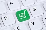 Online Shopping E-Commerce einkaufen im Internet