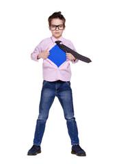 boy secret super hero full length