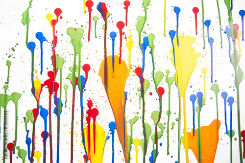 Splashes of color - 81583384