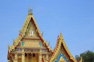 Thai temple building