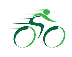 Fast Bicycle Logo