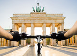 cyclist in Berlin