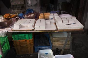Chinese tofu store