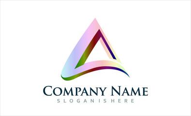 Elegant Triangle - Logo