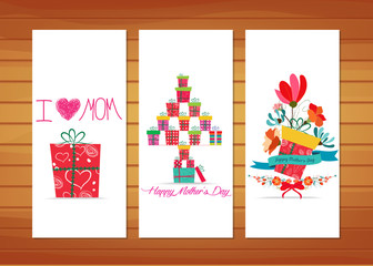 Floral and gifts Mother's Day Cards