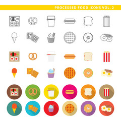 Processed food icons 002.