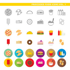 Processed food icons 001.