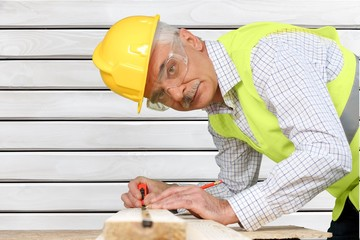 Construction. Construction worker