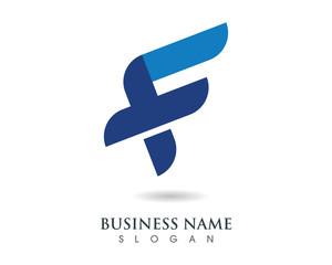 F Logo Template 4