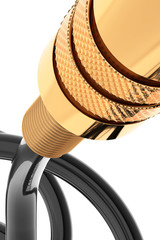 audio jack connector gold