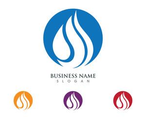 Fire Logo Template 3