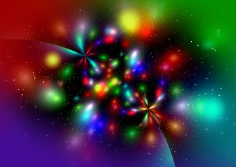 Abstract  multicolor background for design