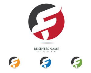 F Logo Template 2