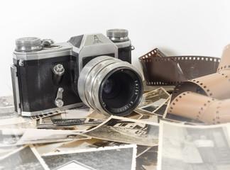 alter antaiker analoger fotoapparat