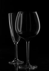 Пустой бокал для напитков