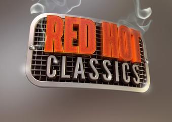 Red Hot Classics Chrome Emblem