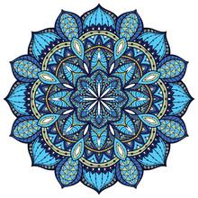 Vector, mandala élégant, avec des détails complexes.