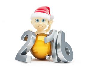 child happy new year 2016