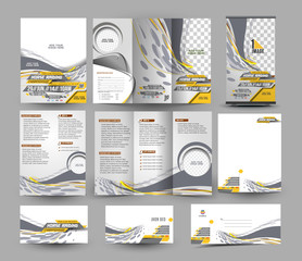 Jockey Competition Stationery Set Template