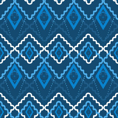 Seamless abstract pattern rhombuses square texture geometric bac