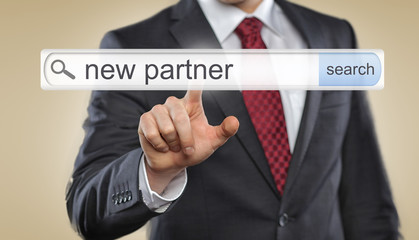 Searching for new partner