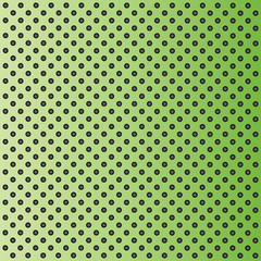 Metal perforated texture green background