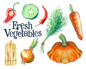 gardening vector logo design template.  fresh food or ripe