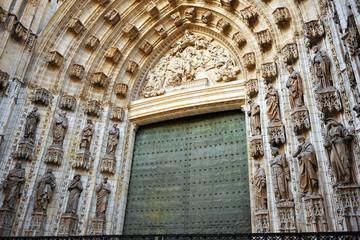 Puerta de la Asunción, Catedral de Sevilla, España