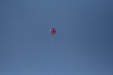 the positive pink balloon
