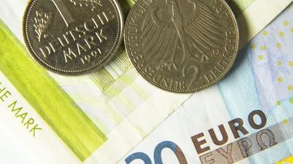 Von der DM zum Euro
